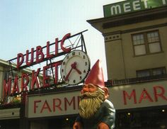 the roaming gnome in Seattle