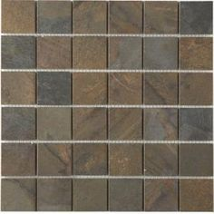 MARAZZI Terra 12 in. x 12 in. Topaz Cypress Porcelain Mesh-Mounted Mosaic Tile-UJCW at The Home Depot