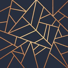 Copper and Midnight Navy' Art Print by Elisabeth Fredriksson is part of Navy Living Room Copper - Also buy this artwork on wall prints, apparel, phone cases, and Geometric Patterns, Textures Patterns, Geometric Lines, Abstract Lines, Navy And Copper, Blue Gold, Navy Blue, Blue And Gold Bedroom, Gold Gold