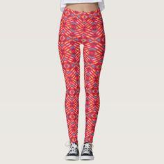 Geometric pattern 4v leggings