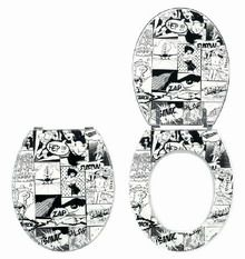 Κάλυμμα-Καπάκι τουαλέτας Pics 42-46x36cm Wirquin Γαλλίας