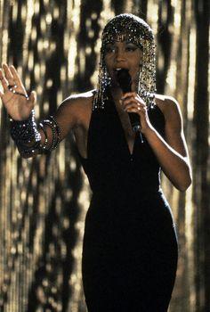 "Whitney Houston in ""Bodyguard"""