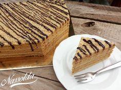 Marlenka | Nassolda Naan, Tiramisu, Waffles, Cake Recipes, Food And Drink, Pie, Baking, Breakfast, Ethnic Recipes