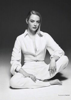 Emma Stone for OUT Magazine