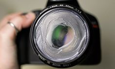 Vaseline Pada Lensa Kamera