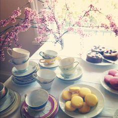 A floral tea. #flowers