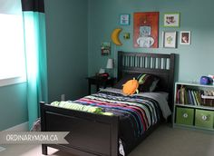 normal kids bedroom. Boy\u0027s Room. Love The Orange Pictures. And Colors | Alek\u0027s Room Pinterest Room, Bookcase Storage Organizing Normal Kids Bedroom M