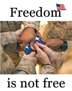 Don't forget to be thankful for all those who serve, all those who give for our freedom. ♥