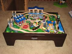 Toys R Us Imaginarium City Train Table Layout. Full Instructions can ...