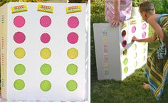 Hosting a candy themed birthday party?  This candy button punch box makes a great alternative to a pinata.