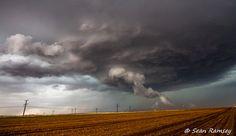 Weather Photography, Storm Photos, Cloud Print, Fine Art, Weather Photos, Texas Landscapes, Brown, Silver, Wellington Texas, Print Sky