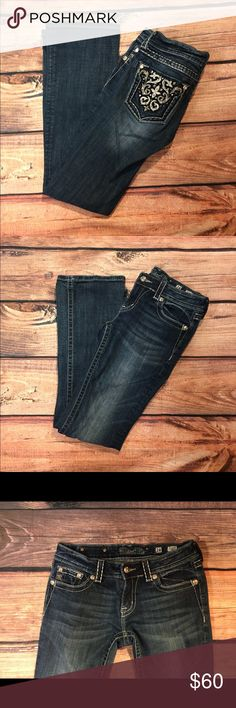 Miss Me Boot Cut Jeans Miss me Boot Cut Jeans. Size 28. Absolutely gorgeous and in wonderful condition! Miss Me Jeans Boot Cut