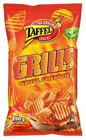 taffel grilli sipsit 350g pussit Snack Recipes, Snacks, Chips, Drinks, Food, Snack Mix Recipes, Drinking, Appetizer Recipes, Appetizers
