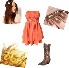 """""""Let's go on a countryy date !"""" by paigerrs99 on Polyvore"""