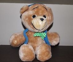 I want this bear for ALF something terrible! I still have my Ted E. Bear from the late 70s (the bear who slept through Christmas). I have told Ken that under no terms am I giving up my childhood bear, so I went on a hunt for a Ted E. Bear of ALFs own. This one is $40 though! EEK!
