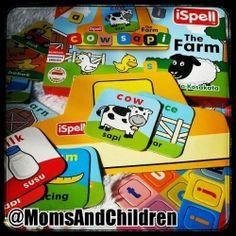 Puzzle Edukasi | iSPELL 'The Farm' Dalam iSPELL 'The Farm', anak-anak bermain dan belajar mengenai benda atau binatang yang terdapat di sebuah pertanian. Contact us : Line@ : @MomsAndChildren whatsapp : 083897632306 BBM : 769432FC Cow, Stuffing