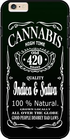 Case Cannabis for Iphone 6 Plus 5.5