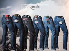 Chasen's. New arrivals Jacob Cohën handmade tailored jeans at Chasens. Made the photo as a favor to my brother.
