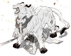 五虎隊のでっかい虎と号さん | とうろぐ-刀剣乱舞漫画ログ