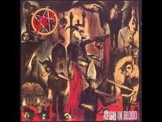 Slayer Reign In Blood FULL ALBUM HD    Track List:    01. Angel Of Death - 00:00  02. Piece By Piece - 04:50  03. Necrophobic - 06:55  04. Altar Of Sacrifice - 08:37  05. Jesus Saves - 11:30  06. Criminally Insane - 14:26  07. Reborn - 16:51  08. Epidemic - 19:05  09. Postmortem - 21:30  10. Raining Blood - 24:59