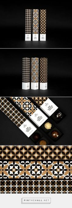 Vosges Chocolate truffles packaging designed by Kajsa Klaesén…