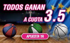 el forero jrvm y todos los bonos de deportes: wanabet cuota 3,5 Real Madrid, Barcelona y Unicaja...