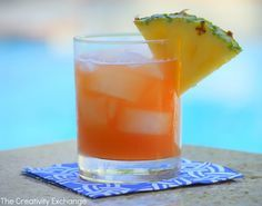 Cayman Rum Punch Recipe- The Creativity Exchange