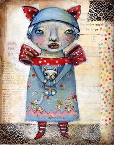 folk art by Karen O'Brien