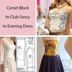 Are there any Corset Making fans in SYDNEY? Corset Pattern Making - SUN 17 February at Bobbin and Ink. You'll use my corset block and make two patterns in this one day workshop. Make Your Own Clothes, Diy Clothes, Pattern Drafting Tutorials, Evening Dresses, Prom Dresses, Fashion Design Portfolio, Corset Pattern, Block Dress, Pattern Making