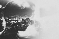 Double Exposures - Andre De Freitas   In love-- this is exactly how I feel.