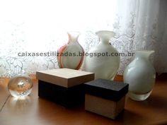 Caixa para presente, decoração, bijuterias, etc.