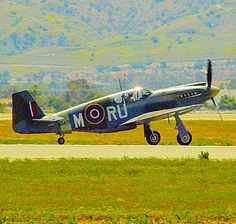 Great view of a North American P-51A Mustang in RAF markings. P51 Mustang, Great View, Airplanes, Military, American, Planes, Aircraft, Plane, Military Man