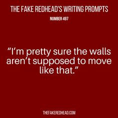 TFR's Writing Prompt 497