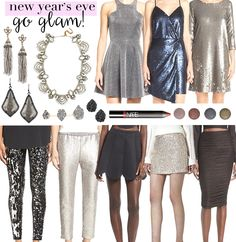 New Year's Eve Outfit Ideas | LivvyLand