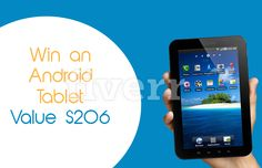 Win an amazing Android Tablet.