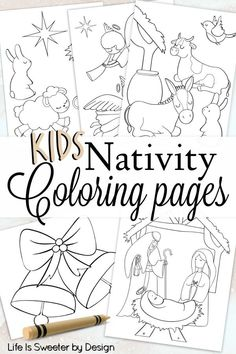 christmas printables Free printable nativity color pages are perfect for keeping the real reason for the season in front of your children. These free Christmas color sheets are fun for kids. Nativity Coloring Pages, Printable Christmas Coloring Pages, Christmas Coloring Sheets, Free Christmas Printables, Christmas Bible, Childrens Christmas, Church Christmas Craft, Christmas Carnival, Christmas Crafts For Kids To Make