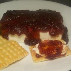 Art #recipe #food #cooking Pepper Jelly Appetizer food-and-drink