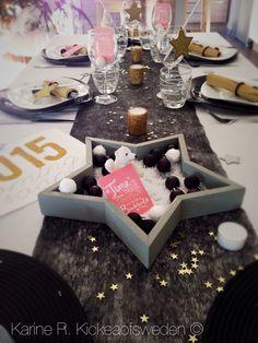 Deco de table nouvel an 2015 deco de table pinterest - Deco table reveillon st sylvestre ...