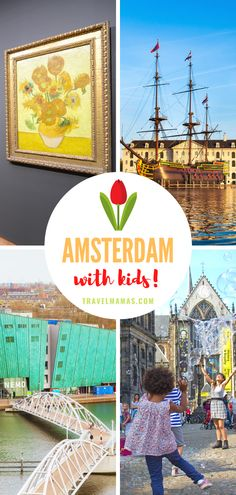 Explore the capital city of the Netherlands with kids! This list of 11 fun family-friendly attractions in Amsterdam will please all ages. #netherlands #holland #amsterdam