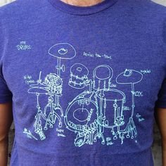 Drum Diagram t-shirt. I need it.