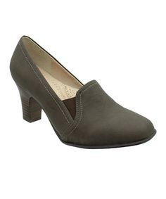 Love this Brown Mindy Pump by LE COMFORT on #zulily! #zulilyfinds