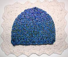 Handknit Baby Boy Beanie Hat Winter Cap by KnitAndCrochetCafe, $18.00