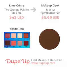 Lime Crime Icon shade dupe