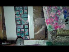 StencilGirl Guest DT Stampbord Encaustic Gelli Arts