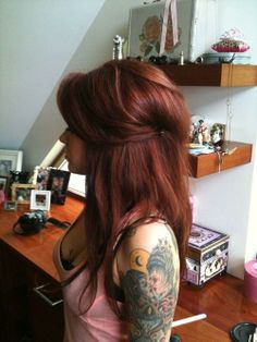 Pretty Red Hair - Hairstyles and Beauty Tips
