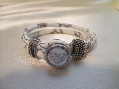 New Snap Leather Bracelet