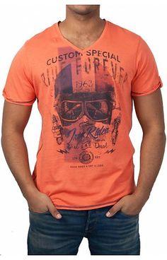 d7c33bf994f81 Camp David Camp David ® T-Shirt Artwork Bedruckte T Shirts