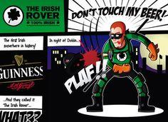 Guinness, Irish, Comic Books, Superhero, Comics, History, Historia, Irish Language, Comic Strips