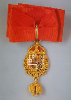 "Order of the Golden Fleece (Spanish) - Neck badge of the ""Roi d'armes"" (47 x 32mm)"