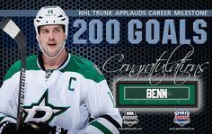 Jamie Benn, Dallas Stars • December 8, 2016 • NHLTrunk.com